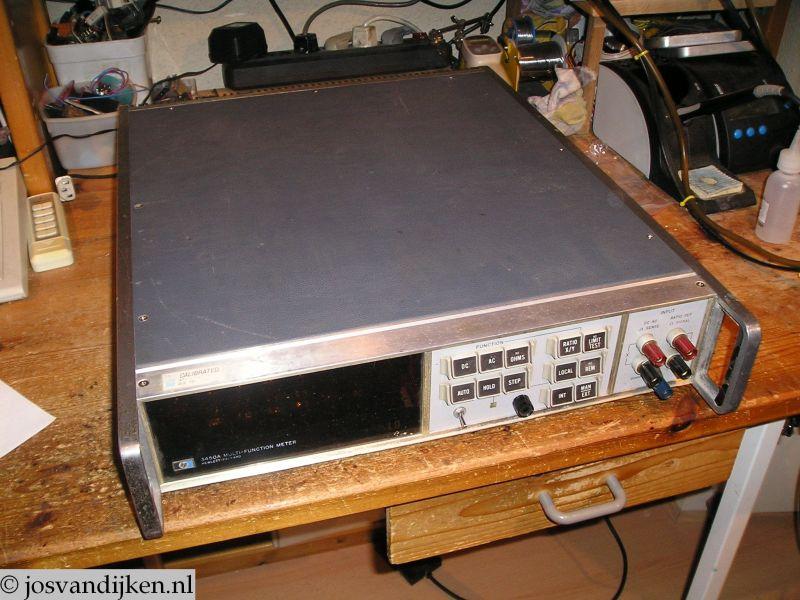 www.josvandijken.nl - Meetapparatuur - HP 3450A